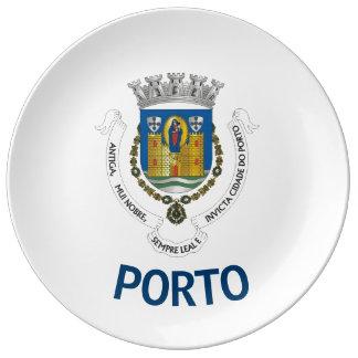 Porto Coat of Arms Collectors Porcelain Plate