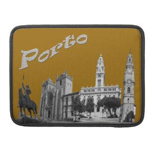 Porto is my town Rickshaw laptop Sleeves For MacBooks