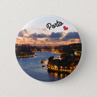 Porto, Portugal 6 Cm Round Badge