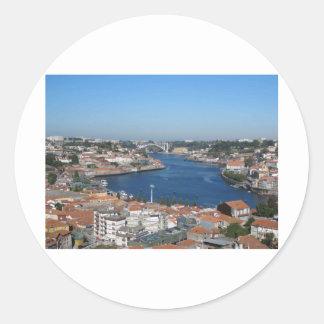 Porto Portugal Classic Round Sticker
