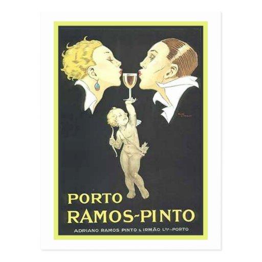 Porto Ramos Pinto Vintage Ad Postcards