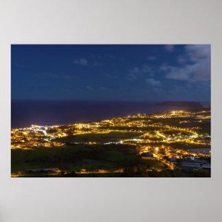 Porto Santo Town Poster
