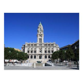 Porto Town Hall Postcard