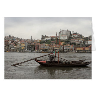 Porto waterfront, Portugal Card