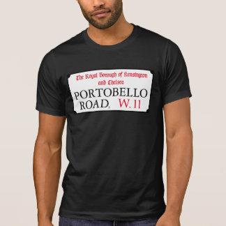 Portobello Road, London Street Sign T Shirt