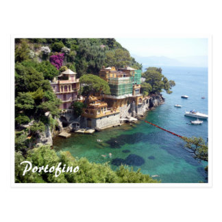 portofino waters postcard