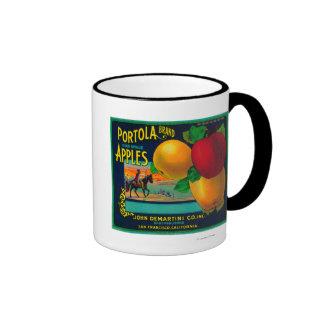 Portola Apple Crate Label Mug