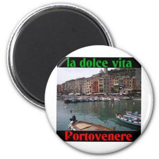 Portovenere Italy 6 Cm Round Magnet