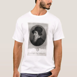 Portrait Benvenuto Cellini  engraved by T-Shirt