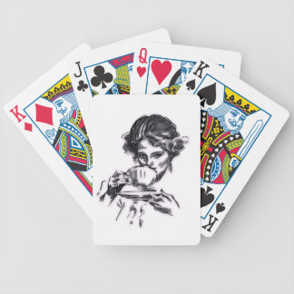 Portrait Bicycle Playing Cards