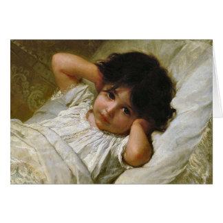 Portrait de Marie Louise Emile Munier 1879 Card