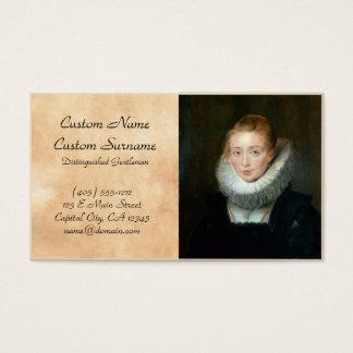 Portrait Maid Honour Infanta Isabella Rubens Paul