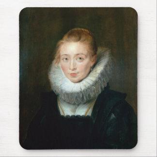 Portrait Maid Honour Infanta Isabella Rubens Paul Mouse Pad