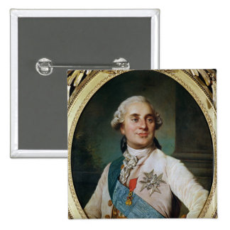 Portrait Medallion of Louis XVI  1775 15 Cm Square Badge