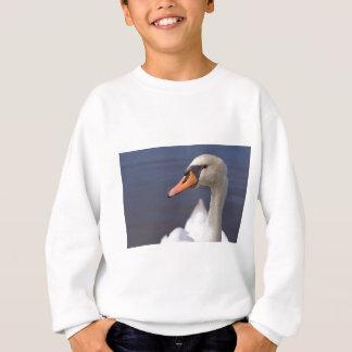 Portrait mute swan sweatshirt