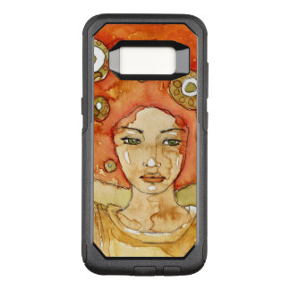 Portrait of a beautiful girl OtterBox commuter samsung galaxy s8 case