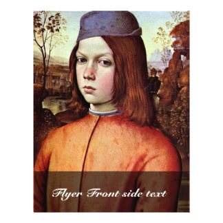 Portrait Of A Boy By Pinturicchio (Best Quality) Flyers