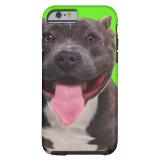 portrait of a bulldog tough iPhone 6 case