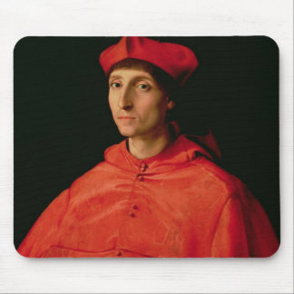 Portrait of a Cardinal Mouse Pad