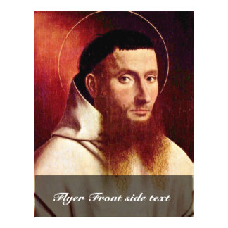 Portrait Of A Carthusian By Christus Petrus Full Color Flyer