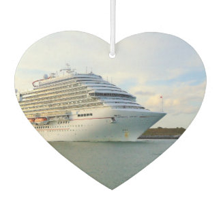 Portrait of a Cruise Ship Bow Car Air Freshener