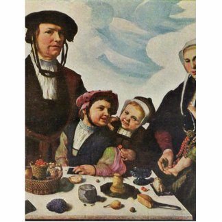 Portrait Of A Family By Heemskerck Marten Van (Bes Photo Cut Out