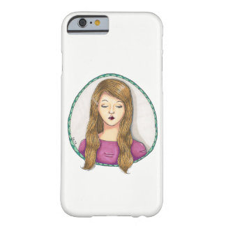 Portrait of a Girl Barely There iPhone 6 Case