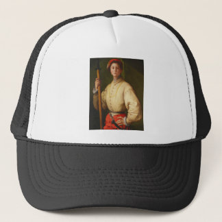 Portrait of a Halberdier by Pontormo Trucker Hat