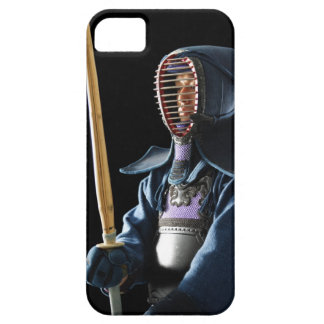 Portrait of a Kendo Fencer 2 iPhone 5 Cases