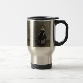 Portrait Of A Lady By Borch D. J. Gerard Ter Coffee Mug