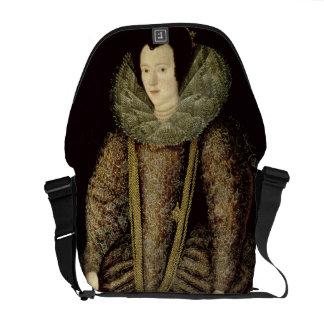 Portrait of a Lady in Elizabethan Dress Commuter Bags