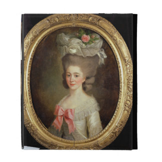Portrait of a Lady (oil on canvas) iPad Folio Cases