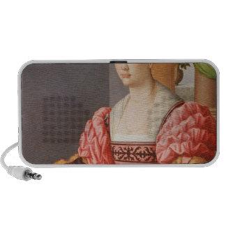 Portrait of a Lady Laptop Speaker