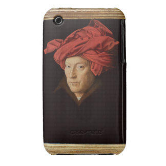 Portrait of a Man, 1433 (oil on oak) (see also 422 iPhone 3 Cover