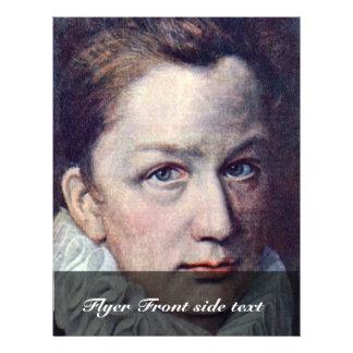 Portrait Of A Man By Dumonstier Pierre Flyer