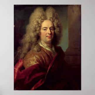Portrait of a Man c 1715 Posters