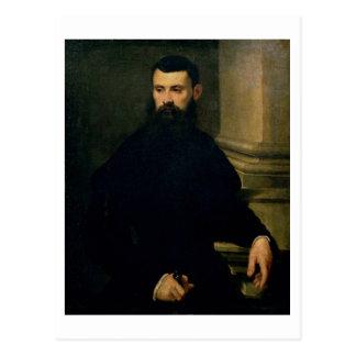 Portrait of a Man (oil on canvas) 2 Postcard