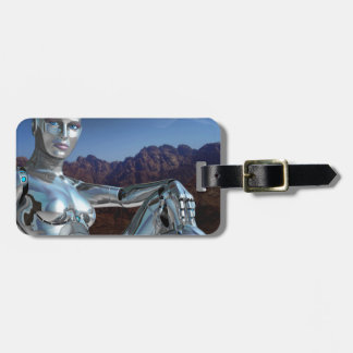 Portrait of a Memory Luggage Tag