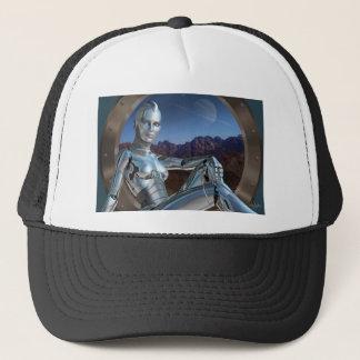 Portrait of a Memory Trucker Hat