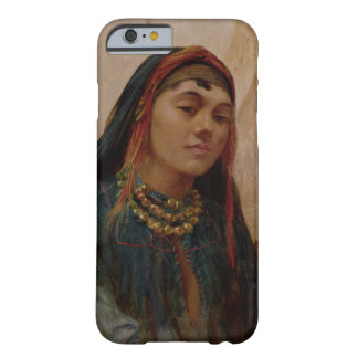 Portrait of a Middle Eastern Girl, c.1859 (oil on Barely There iPhone 6 Case