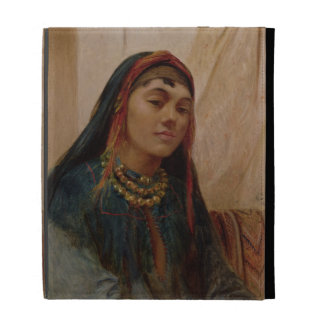 Portrait of a Middle Eastern Girl, c.1859 (oil on iPad Case