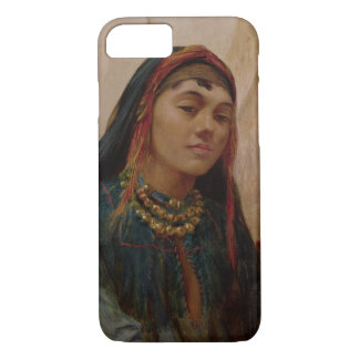 Portrait of a Middle Eastern Girl, c.1859 (oil on iPhone 7 Case