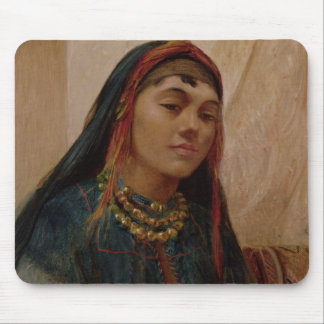 Portrait of a Middle Eastern Girl, c.1859 (oil on Mouse Pad