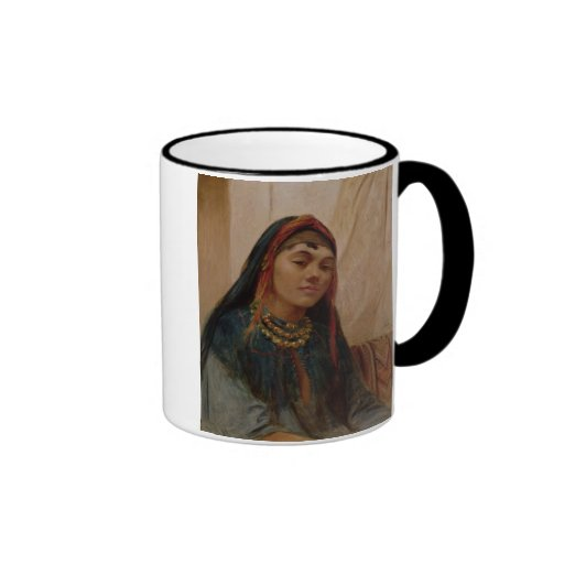 Portrait of a Middle Eastern Girl, c.1859 (oil on Coffee Mugs