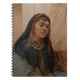 Portrait of a Middle Eastern Girl, c.1859 (oil on Notebooks