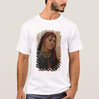 Portrait of a Middle Eastern Girl, c.1859 (oil on T-Shirt