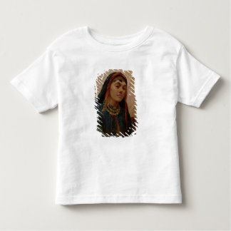 Portrait of a Middle Eastern Girl, c.1859 (oil on Tee Shirt