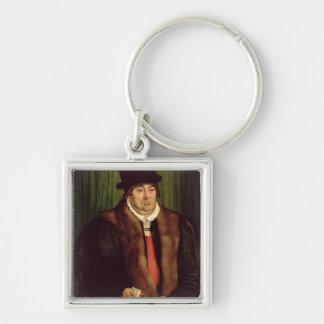 Portrait of a Munich Aristocrat, 1559 Key Chains