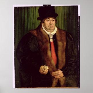 Portrait of a Munich Aristocrat, 1559 Poster