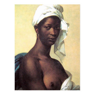 Portrait of a Negress Postcard